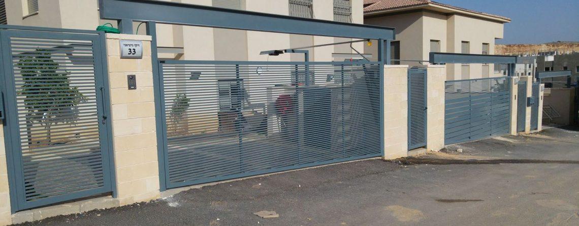 אדיר שערים חשמליים לבית פרטי - המדריך המלא של חברת מטאדור OK-35